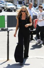 KATE MOSS Leaves Her Hotel in Paris 06/22/2019