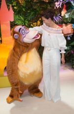 KATIE HOLMES at Jungle Book Jive Photocall at Lion King Festival at Disneyland Paris 06/29/2019