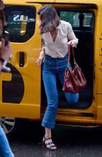 KATIE HOLMES Out in New York 06/18/2019