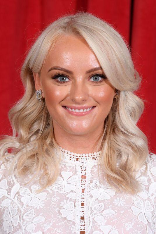 KATIE MCGLYNN at British Soap Awards 2019 in Manchester 06/01/2019