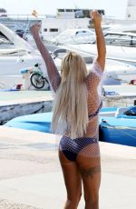 KATIE PRICE in Bikini for JYY London in Majorca 04/19/2019