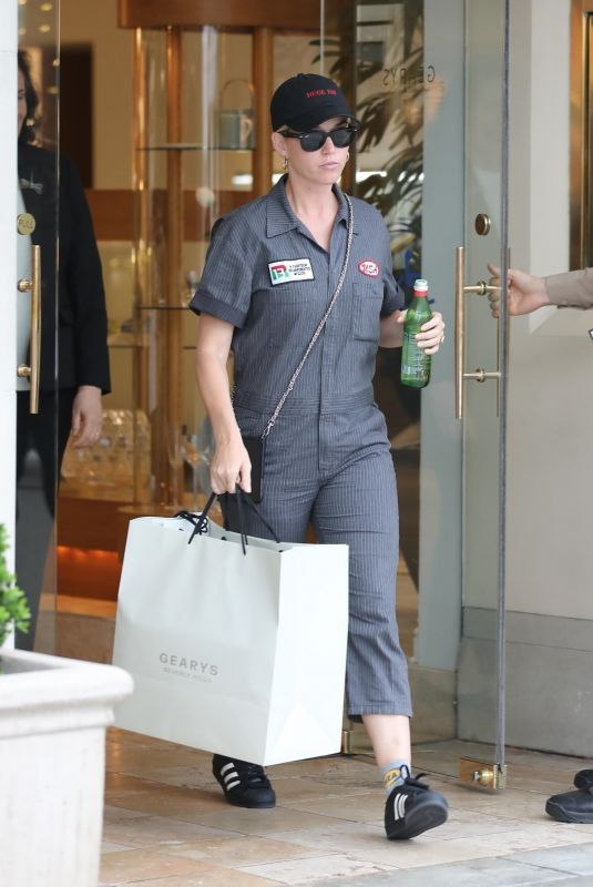 KATY PERRY Out Shopping in Beverly Hills 06/19/2019