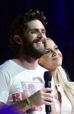 KELSEA BALLERINI and Thomas Rhett Performs at 2019 CMA Music Festival in Nashville 06/07/2019