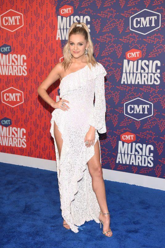 KELSEA BALLERINI at 2019 CMT Music Awards in Nashville 06/05/2019