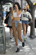 KENDALL JENNER and HAILEY BIEBER Out in Beverly Hills 06/11/2019