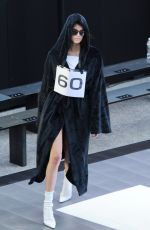 KENDALL JENNER at Alexander Wang Collection 1 Fashion Show in New York 0/31/2019