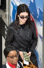 KENDALL JENNER at JFK Airport in New York 06/02/2019