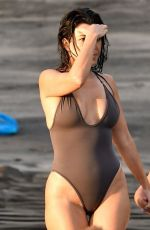 KENDALL JENNER in Swimsuit at a Beach in Costa Rica 06/19/2019