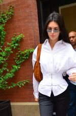 KENDALL JENNER Out and About in New York 06/01/2019