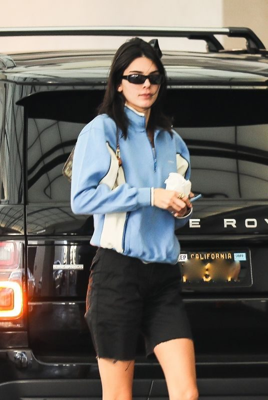 KENDALL JENNER Out for Dinner in Beverly Hills 06/23/2019
