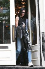KENDALL JENNER Out Shopping in New York 06/02/2019