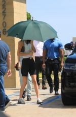 KENDALL JENNER Parked in a Handicapped Spot at Nobu in Malibu 06/23/2019
