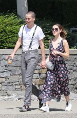 KIERNAN SHIPKA and Charlie Oldman Out in Vancouver 06/01/2019
