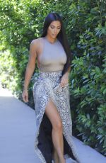 KIM KARDASHIAN Out and About in Los Angeles 06/10/2019