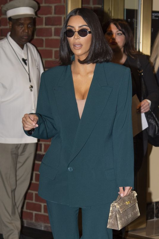KIM KARDASHIAN Out in Washington D.C. 06/13/2019