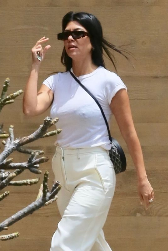 KOURTNEY KARDASHIAN at Nobu in Malibu 06/11/2019