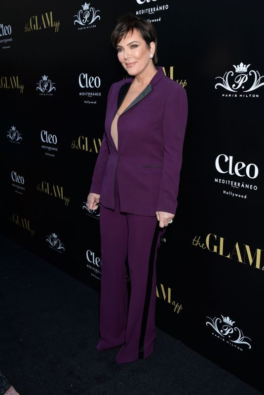 KRIS JENNER at The Glam App Launch in Los Angeles 06/19/2019