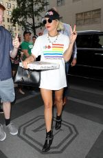 LADY GAGA Out in New York 06/28/2019