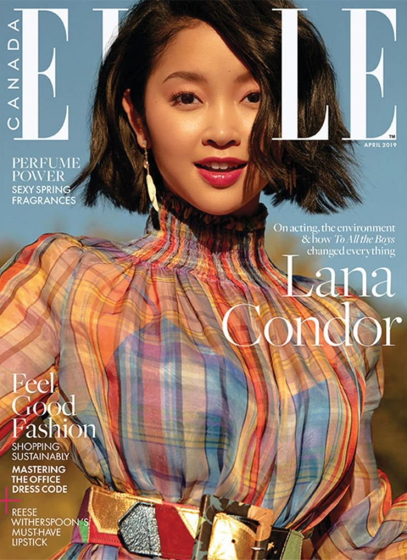 Lana Condor In Elle Magazine Canada April 2019 Hawtcelebs