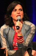 LANA PARRILLA at Wizard World Comic-con in Philadelphia 06/15/2019