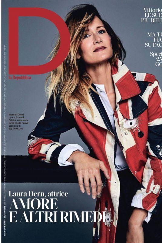 LAURA DERN in D La Repubblica, June 2019