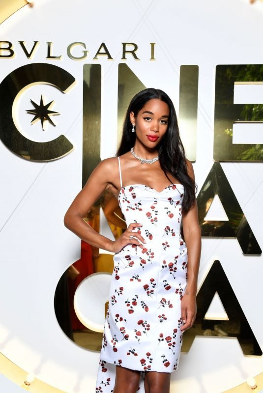 LAURA HARRIER at Bvlgari Dinner and Party in Capri 06/13/2019