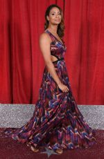 LAURA ROLLINS at British Soap Awards 2019 in Manchester 06/01/2019