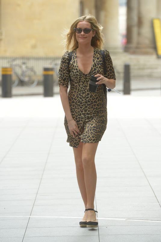 LAURA WHITMORE Arrives at BBC Radio in London 06/23/2019