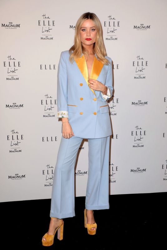 LAURA WHITMORE at Elle List in Association with Magnum Ice Cream in London 06/19/2019