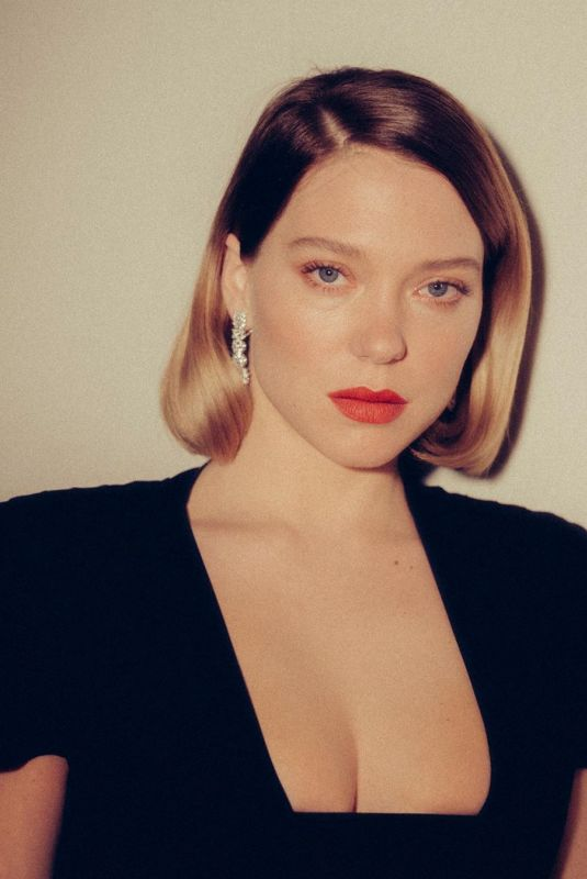 LEA SEYDOUX for Vanity Fair Quotidien in Cannes, May 2019