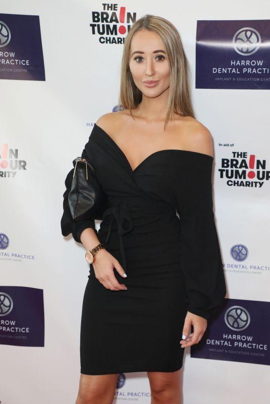 LEAH MOUNTFORD at Harrow Dental Practice x Brain Tumour Charity Gala Dinner in London 06/22/2019