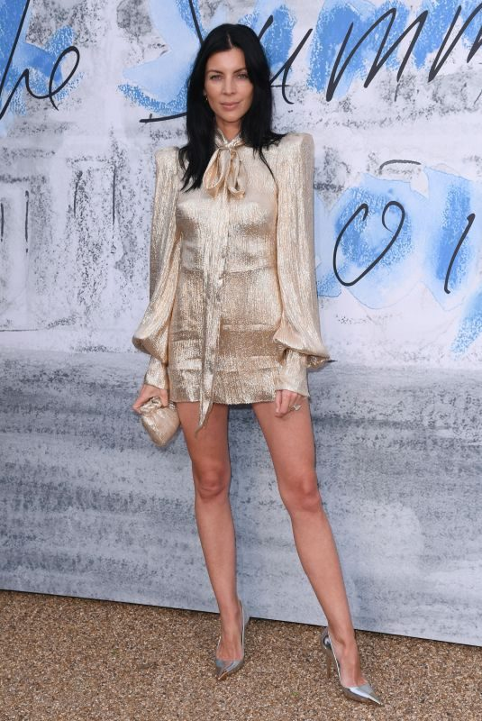 LIBERTY ROSS at Serpentine Gallery Summer Party in London 06/25/2019