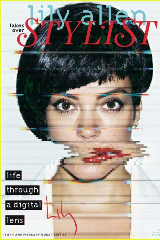 LILY ALLEN for Stylist Magazine, UK June 2019