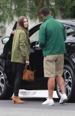 LILY COLLINS Arrives at San Vicente Hotel in West Hollywood 06/22/2019