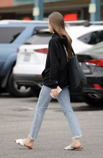 LILY COLLINS Out and About in West Hollywood 06/16/2019