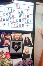 LILY JAMES and MILLE BOBBY BROWN at Late Late Show with James Corden 06/18/2019