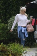 LINDSEY VONN Out in Los Angeles 06/17/2019