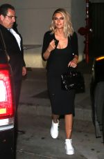 LISA RINNA Out for Dinner in West Hollywood 06/06/2019