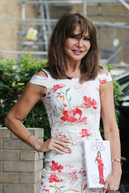 LIZZIE CUNDY Arrives at ITV Studios in London 06/06/2019