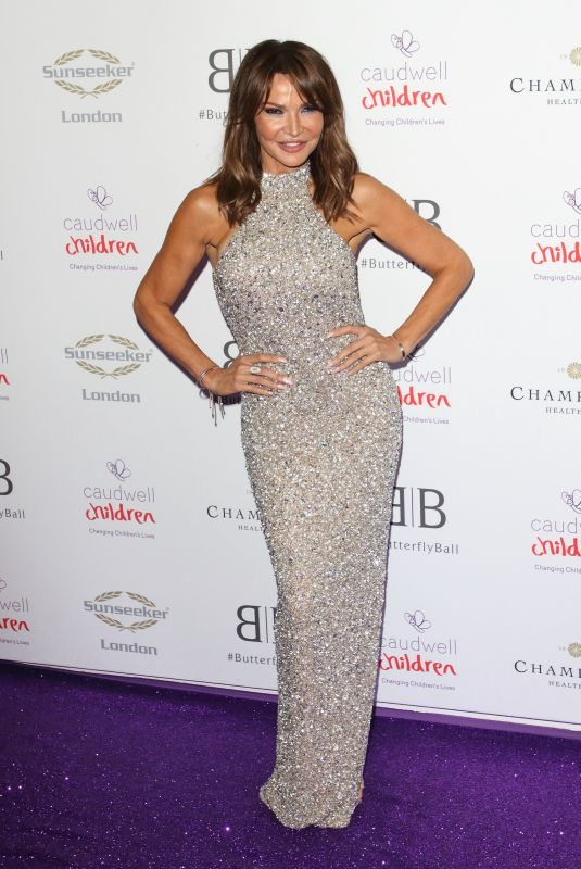 LIZZIE CUNDY at Caudwell Children Butterfly Ball in London 06/13/2019