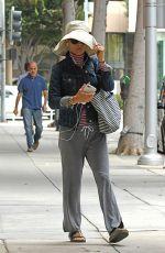 LORI LOUGHLIN Leaves a Nail Salon in Beverly Hills 06/21/2019