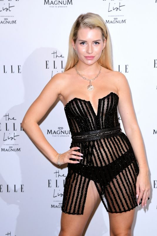 LOTTIE MOSS at Elle List in Association with Magnum Ice Cream in London 06/19/2019