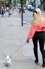 LOTTIE MOSS Out with her Dog in London 06/05/2019