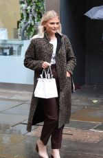 LUCY FALLON Shopping at Say It with Diamonds Store in Manchester 06/07/2019