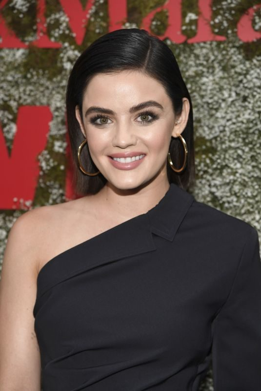 LUCY HALE at 2019 Women in Film Max Mara Face of the Future in Los Angeles 06/11/2019