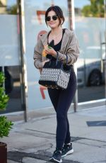 LUCY HALE at Shape House in Studio City 06/27/2019