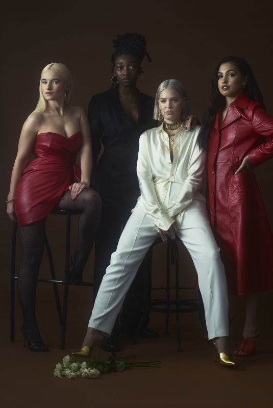 MABELMCVEY, LITTLE SIMZ, GRACE CHATTO and ANNE MARIE for V Magazine, 2019