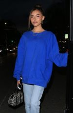 MADISON BEER at Il Pastaio in Beverly Hills 06/11/2019