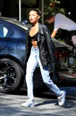 MADISON BEER at Sunset Marquis in West Hollywood 06/19/2019