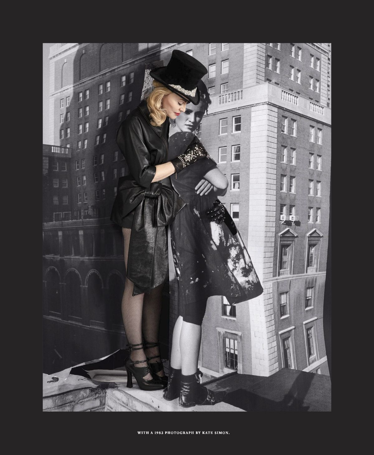 Francois Illas New Tradition: MADONNA In The New York Times Magazine, June 2019